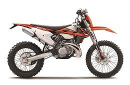 Typical Trail Motorbike